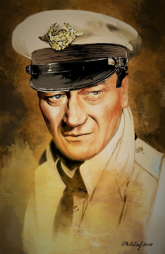John Wayne by Phildef